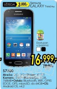 Mobilni telefon Galaxy Trend Plus S7580