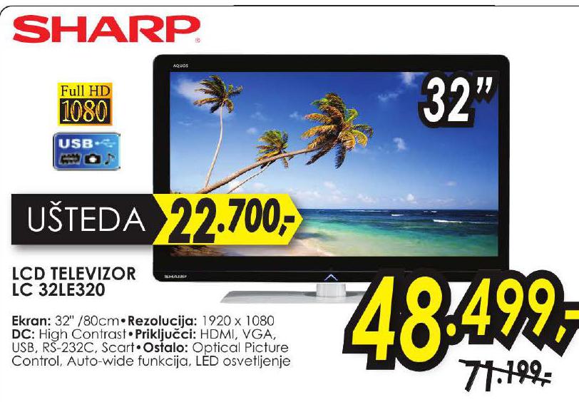 LCD Televizor 32LE 320
