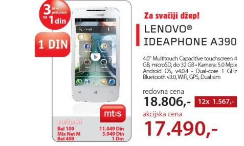 Mobilni telefon  A390