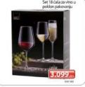 Set 18 čaša za vino