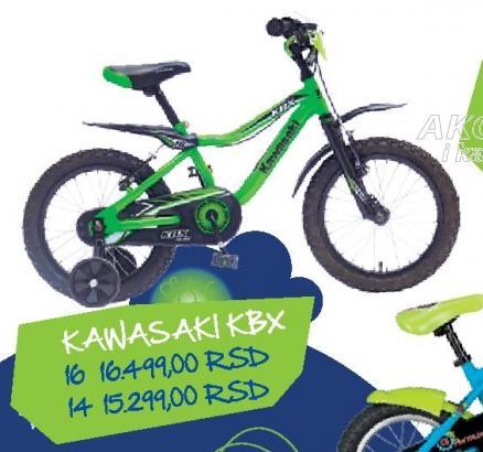 Dečije biciklo Kawasaki KBX 16
