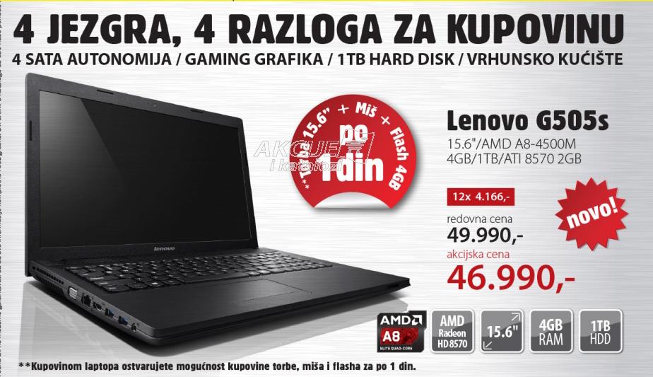 Laptop G505s