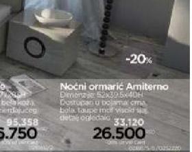 Noćni ormarić  Amiterno