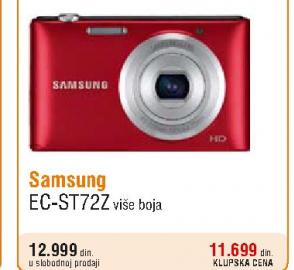 Digitalni fotoaparat ECT-ST727