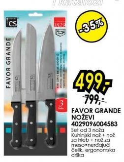 Set noževa Favor Grande Solingen 4029096004583