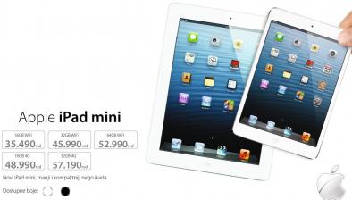 Tablet iPad mini, 16GB  4G