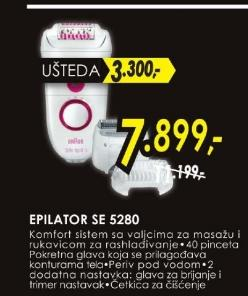 Epilator SE 5280