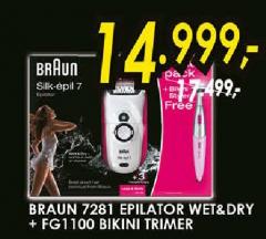 Epilator 7281 WET&DRY