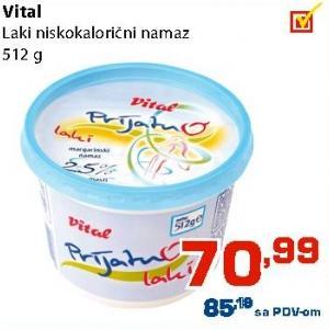 Margarin za mazanje laki