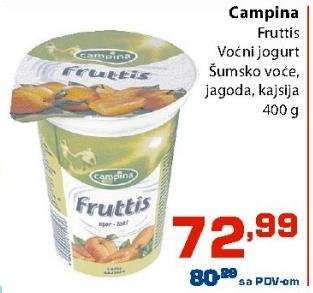Voćni jogurt šumsko voće