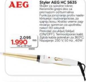Styler za kosu  HC 5635