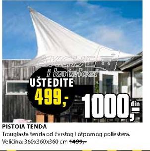 PISTOIA TENDA