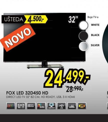 Televizor LED LCD 32D450