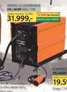 Aparat za zavarivanje Mag 170R