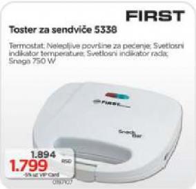 Sendvič toster 5338