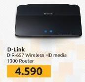 Bežični ruter DIR-657 D-Link