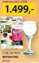 Čaše za vino Imperatriz
