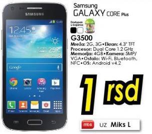 Mobilni telefon Galaxy Core Plus G3500