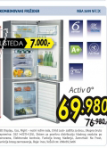 Kombinovani frižider WBA 3699 NFC IX