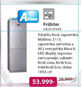 Frižider GB3133PVKK