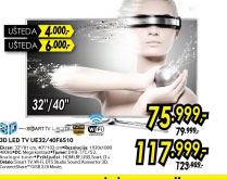3D televizor LED LCD UE-40F6510