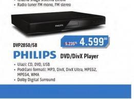 DVD plejer DVP2850/58