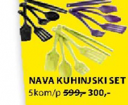 Kuhinjski set Nava