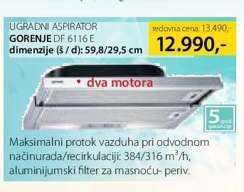 Aspirator DF6116E