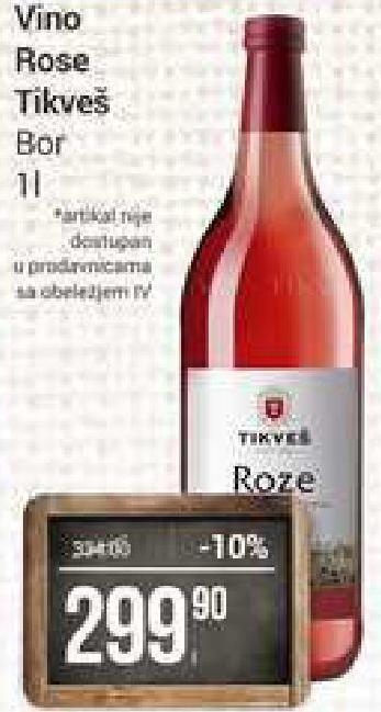 Rose vino