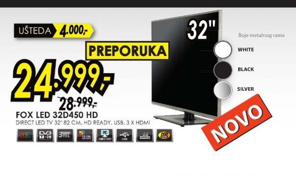 Televizor LED 32D450