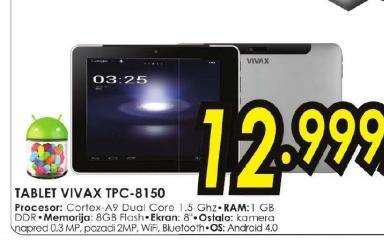 Tablet TPC 8150