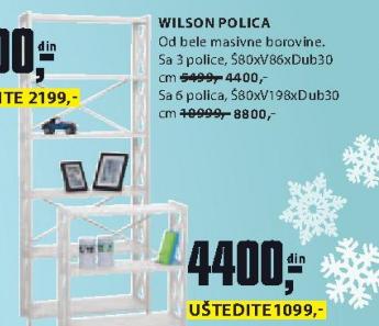 Polica Wilson