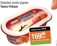Sladoled vanila i jagoda