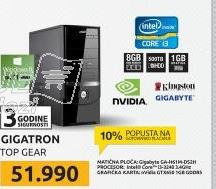Desktop računar GIGATRON TOP GEAR 9