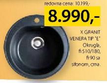 Sudopera X Granit Venera tip E