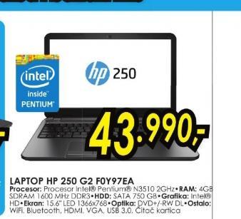 Laptop 250 G2 F0Y97EA