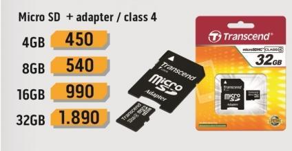 Micro SD 16GB sa adapterom