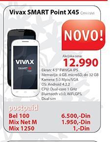 Mobilni telefon VIVAX SMART Point X45