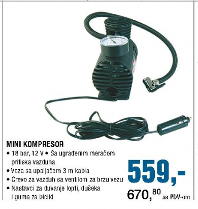 Mini kompresor