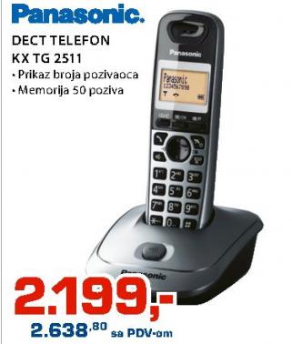 Telefon bežični KX-TG2511