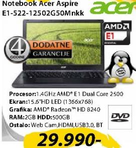 Laptop E1-522-12502G50Mnkk