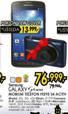 Mobilni telefon Galaxy S4 Active I9295 Poklon View Cover