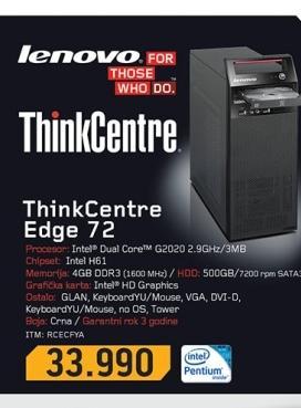 Desktop računar EDGE 72