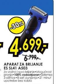 Aparat za brijanje ES SL41 A503