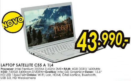 Laptop Satellite C55 A 1L4