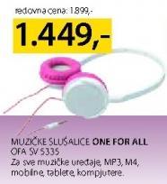 Slušalice Ofa Sv 5335 One For All