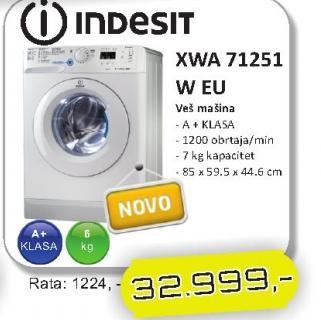 Mašina za veš XWA 71251 W EU