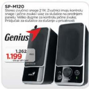 Zvucnici SP-M120