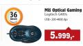 Optički miš Gaming G400S