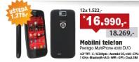 Mobilni telefon MultiPhone 4300 DUO Crni